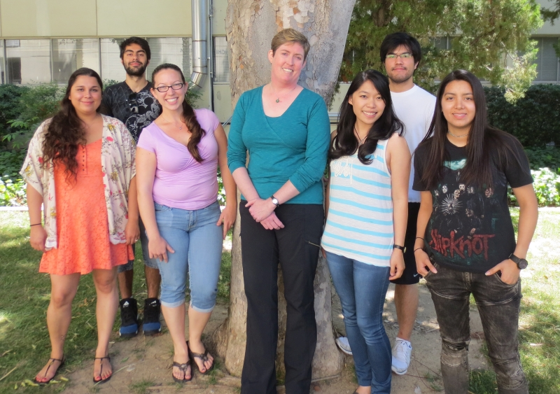 Lab group photo - Spring 2016